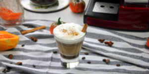 Pumpkin spice cappuccino by Laura's Sweets