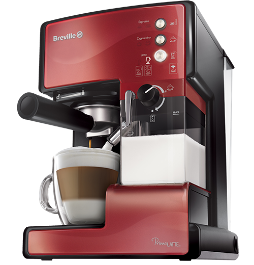 Espressor Prima Latte Red